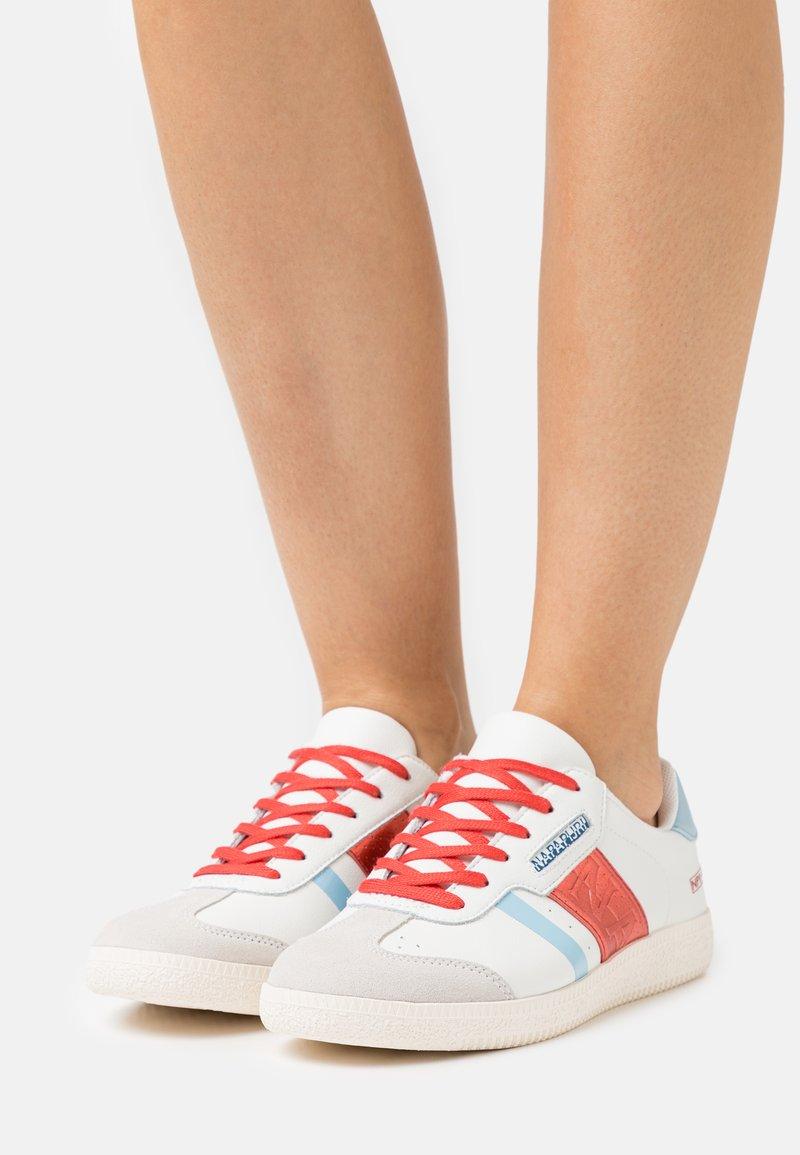 Napapijri - CORA - Trainers - white/red/multicolor