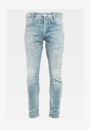 D-STAQ 3D SLIM - Slim fit jeans - sun faded scanda blue