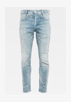 D-STAQ 3D SLIM - Jean slim - sun faded scanda blue