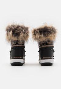 Moon Boot - JR GIRL MONACO LOW WP - Winter boots - black/copper - 2
