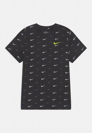 PLUS - Print T-shirt - black