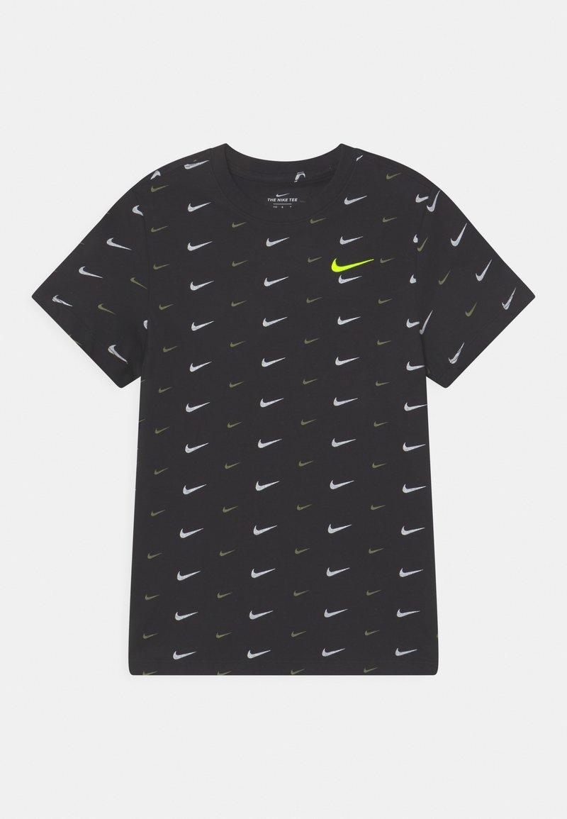 Nike Sportswear - PLUS - T-shirt med print - black