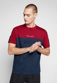 Nominal - DARA - Print T-shirt - navy - 0