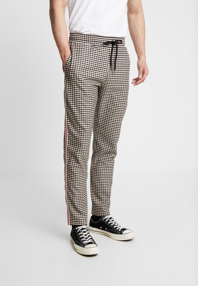 OCTAVIA TROUSER - Pantalon classique - stone/multi