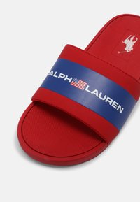 Polo Ralph Lauren - BENSLEY III UNISEX - Mules - red smooth/royal - 5