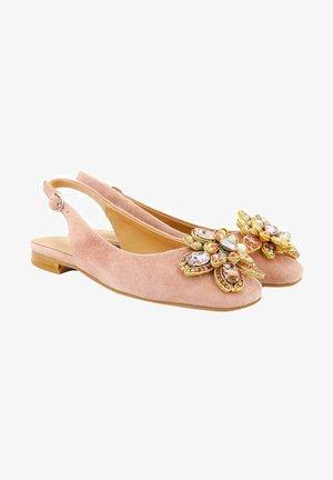 SINTRA - Slingback ballet pumps - pink