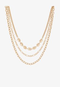 Topshop - 3 CHAIN CHOKER - Halskette - gold-coloured - 3