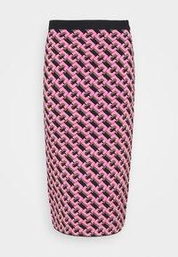 AISHA - Pencil skirt - guaiava multi