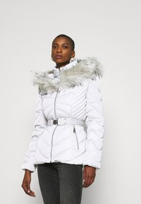 Guess - SARA SHORT JACKET - Down jacket - marble grey - 5