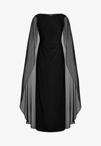 Lauren Ralph Lauren - CLASSIC LONG GOWN COMBO - Suknia balowa - black - 6