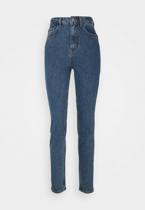 OBJVINNIE MOM - Jean boyfriend - medium blue denim