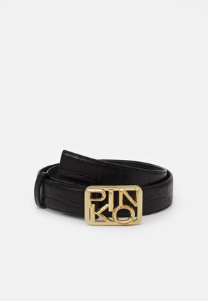 FISCHIO SMALL BELT - Pasek - black