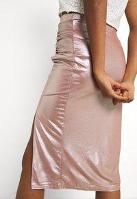 TFNC - JESSIE SKIRT - Pencil skirt - nude - 3