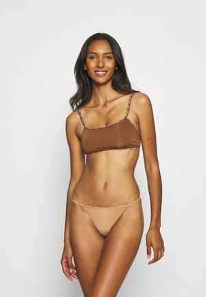 THONG 2 PACK - String - bronzed
