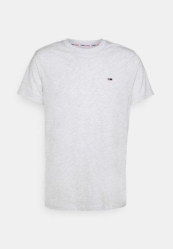 C NECK TEE - T-shirt basic - white heather