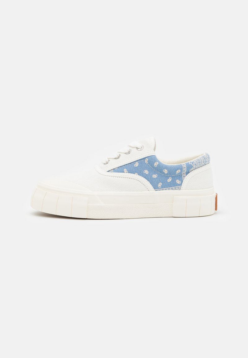 Good News - OPAL PAISLEY UNISEX - Sneakers laag - white/blue