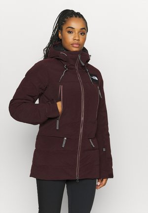 PALLIE JACKET - Ski jacket - root brown
