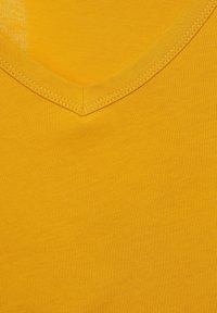 Street One - T SHIRT IM BASIC STYLE - Basic T-shirt - gelb - 4