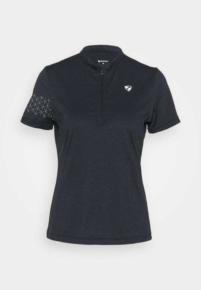 NAMINTA LADY TRICOT - T-shirt print - black