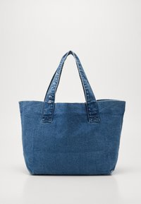 Bolso shopping - vintage blue