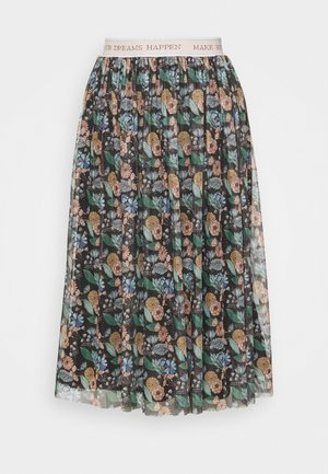 SKIRT PRINTED - A-line skirt - black