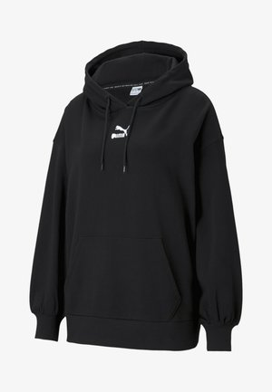 CLASSICS - Jersey con capucha - black