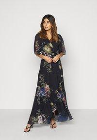 Hope & Ivy Petite - THE MARIANNE - Maxi dress - dark blue - 0