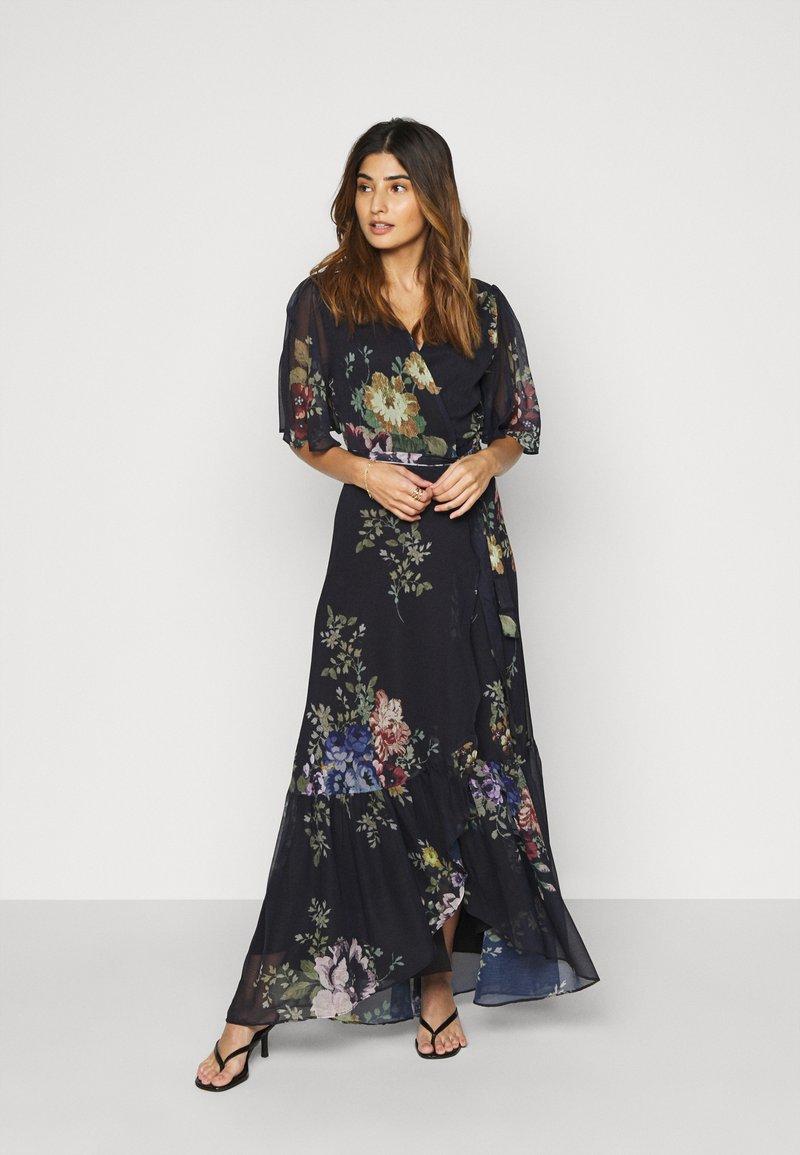 Hope & Ivy Petite - THE MARIANNE - Maxi dress - dark blue