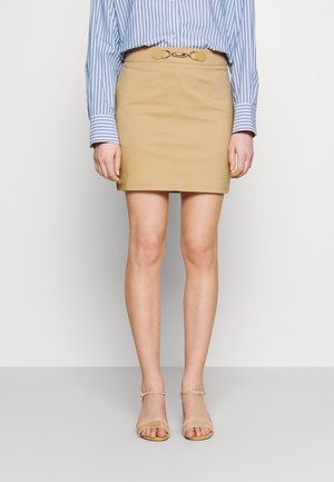 JBOUCLE - Mini skirt - chamois