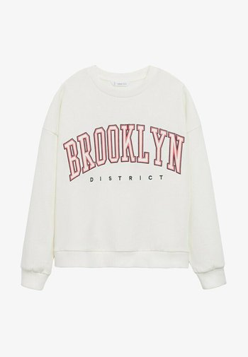 MIAMI - Sweatshirt - blanc cassé