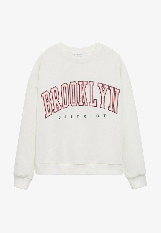 MIAMI - Sweatshirts - blanc cassé