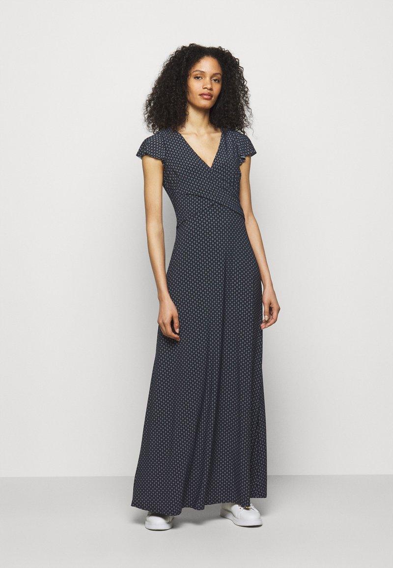 Lauren Ralph Lauren - PRINTED MATTE DRESS - Maxi dress - lighthouse navy