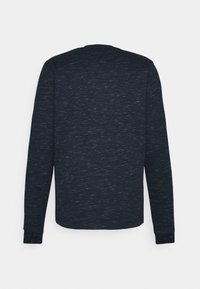 Tommy Jeans - CREW NECK SNIT - Long sleeved top - twilight navy - 1