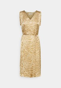 Mos Mosh - SHEA ZEBRA DRESS - Day dress - incense - 0