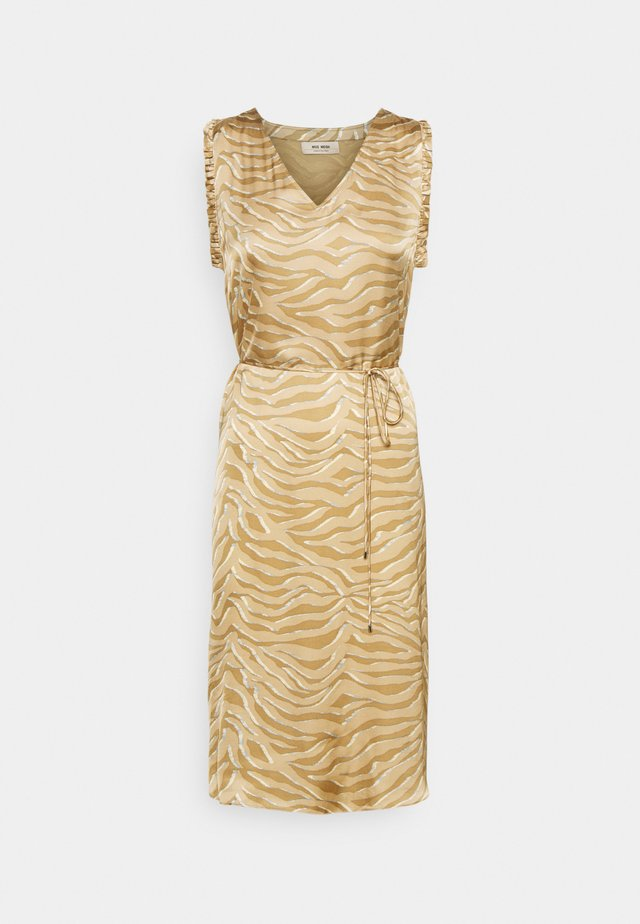 SHEA ZEBRA DRESS - Korte jurk - incense