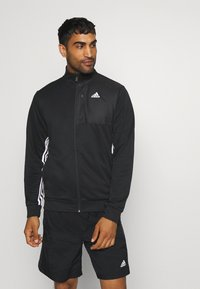 adidas Performance - Zip-up hoodie - black - 0