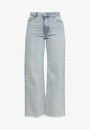 YOKO CROPPED - Jeans relaxed fit - blue
