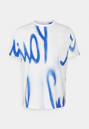 GENTS SPRAY LOGO  - T-shirt imprimé - white