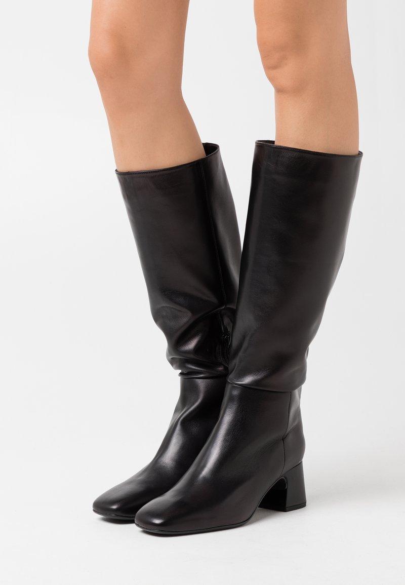 Unisa - MIEDE - Vysoká obuv - black