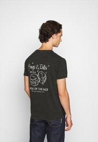 Replay - T-shirt con stampa - blackboard - 0