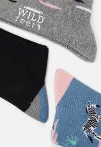 Wild Feet - WILDFEET ZEBRA SOCKS 3 PACK - Sokken - multi-coloured - 2