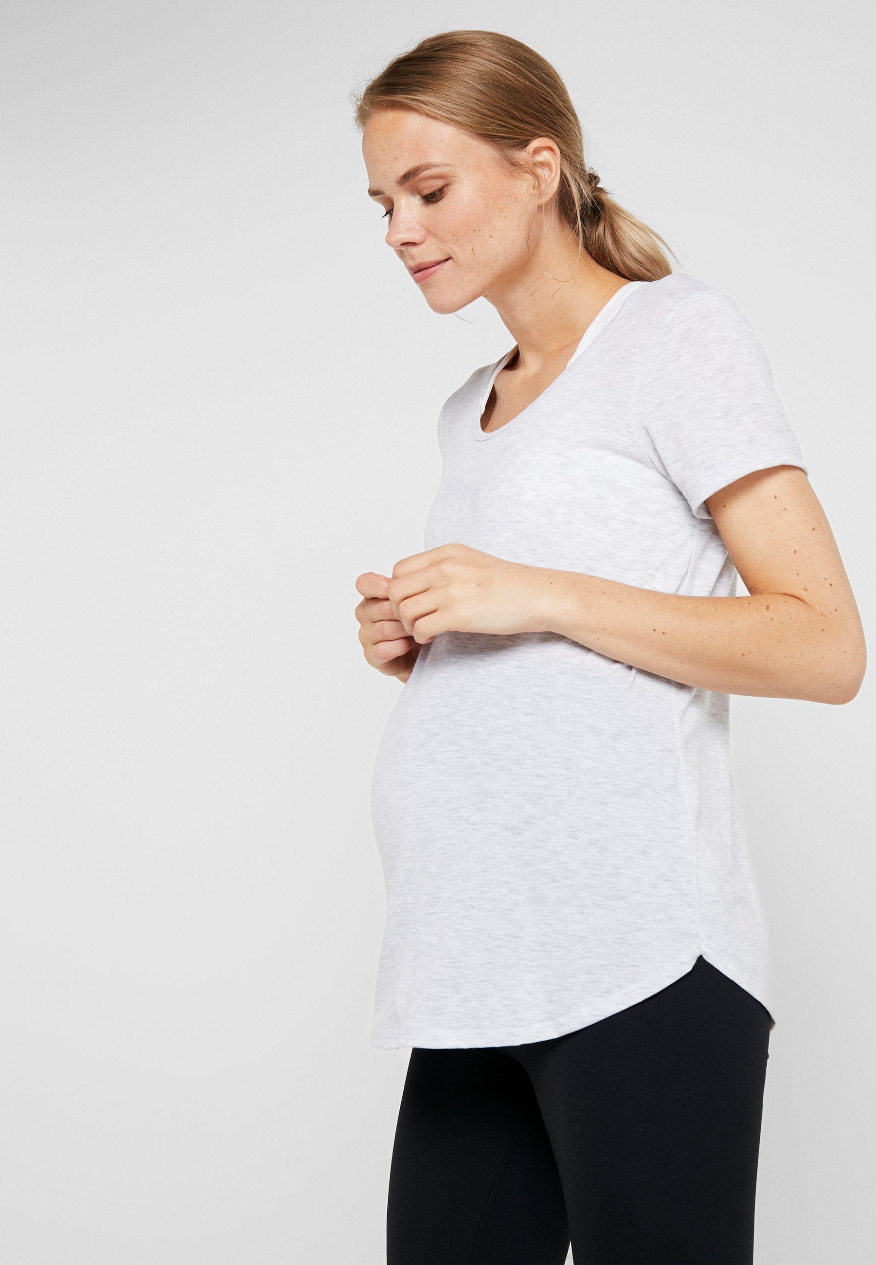 Women MATERNITY GYM TEE - Basic T-shirt