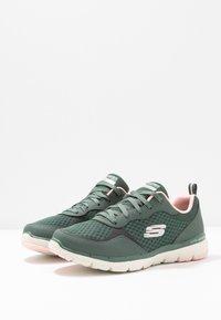 Skechers Sport - FLEX APPEAL 3.0 - Sneakers laag - olive/pink - 4