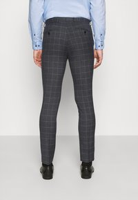 Jack & Jones PREMIUM - JPRBLAFRANCO MIX SUIT - Kostuum - dark grey - 5