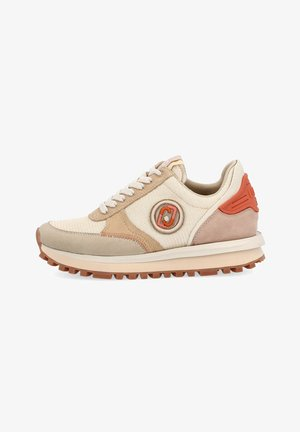 Sneakers laag - apricot