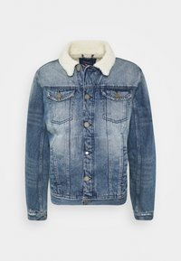 Blend - OUTERWEAR - Giacca di jeans - denim middle blue - 0