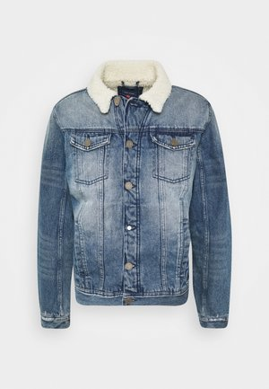 OUTERWEAR - Džínová bunda - denim middle blue