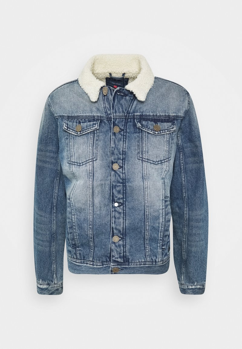 Blend - OUTERWEAR - Giacca di jeans - denim middle blue