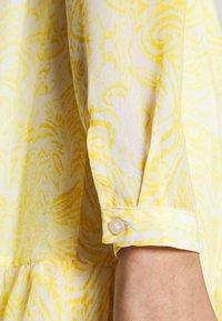 Vila - VIPLISSEA SHIRT DRESS - Shirt dress - spicy mustard - 5