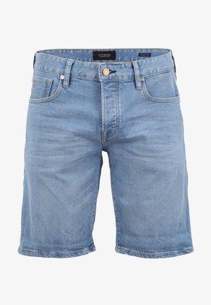 JEANS SHORT - Denim shorts - blue used